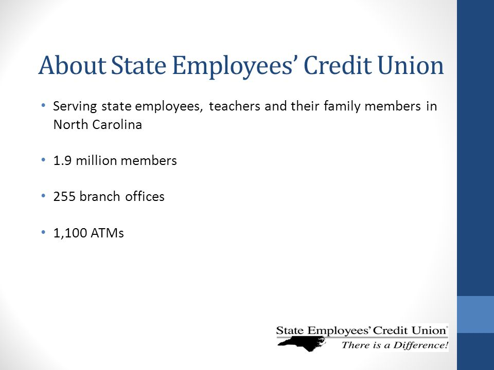 About State Employees' Credit Union