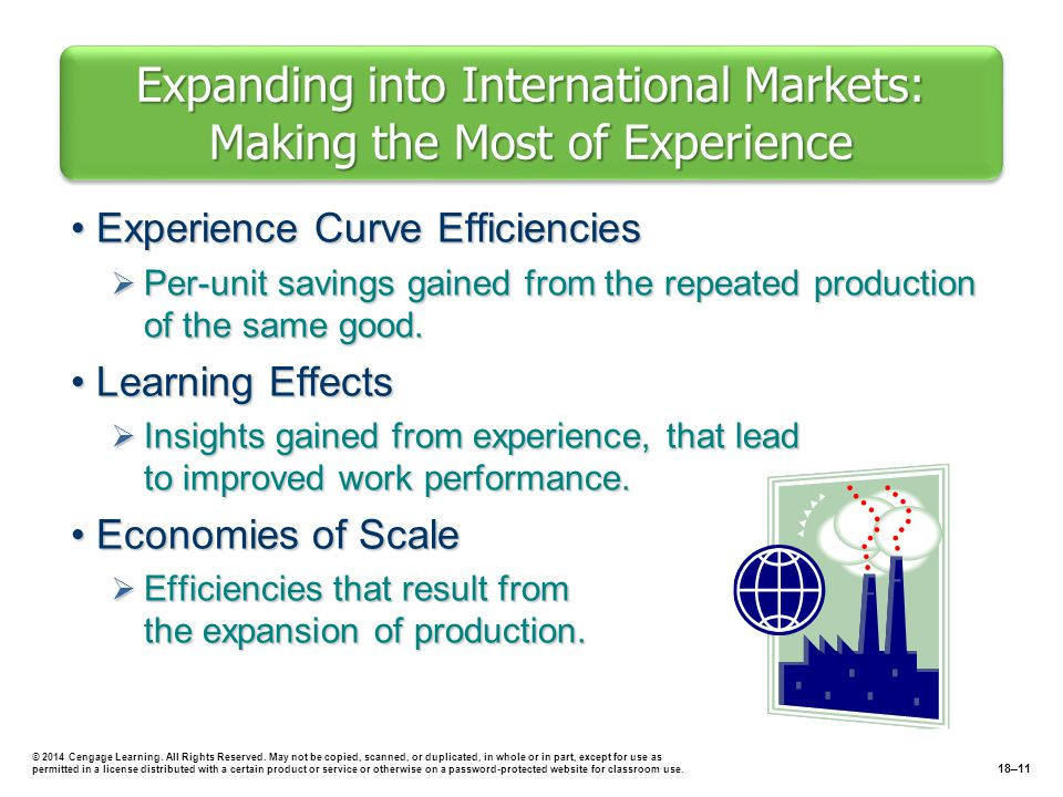 Expanding into International Markets: Making the Most of Experience