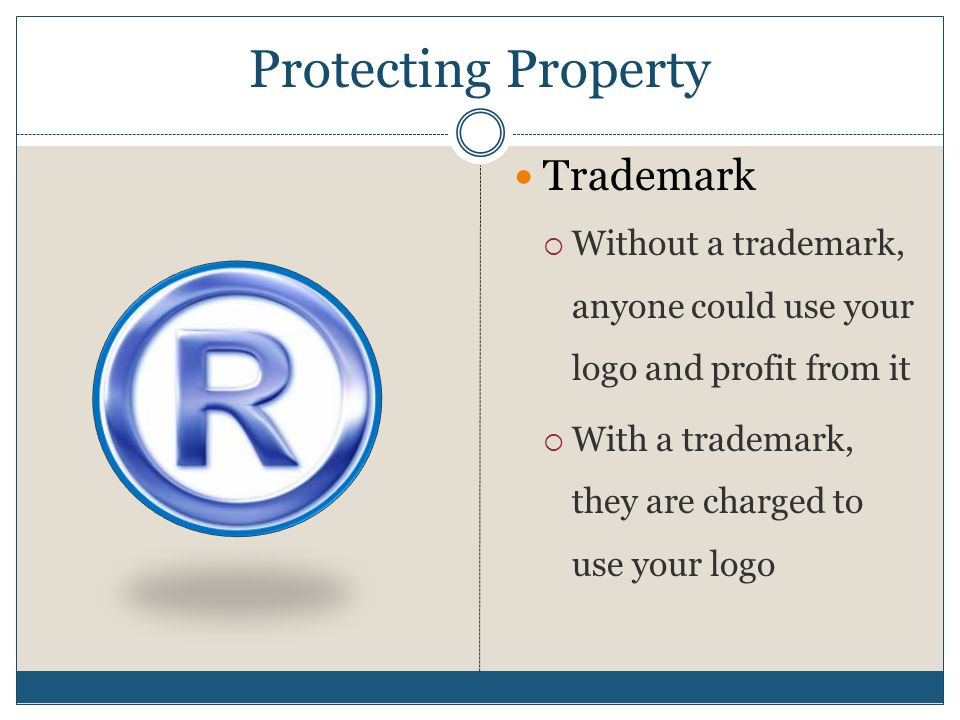 Protecting Property Trademark
