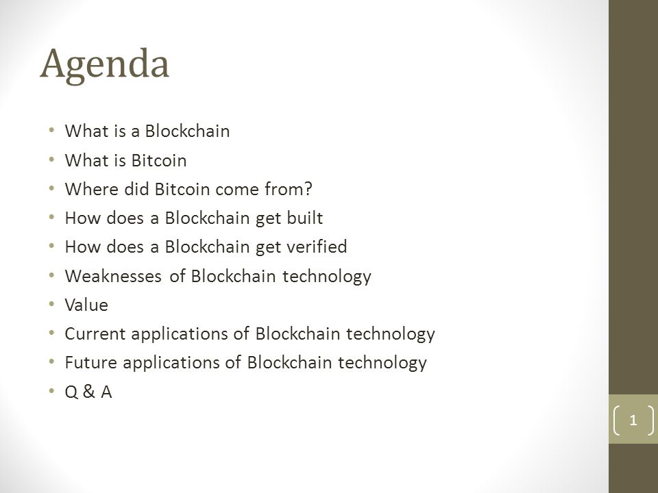 Blockchain Defined Simply defined a Blockchain is little more than a:
