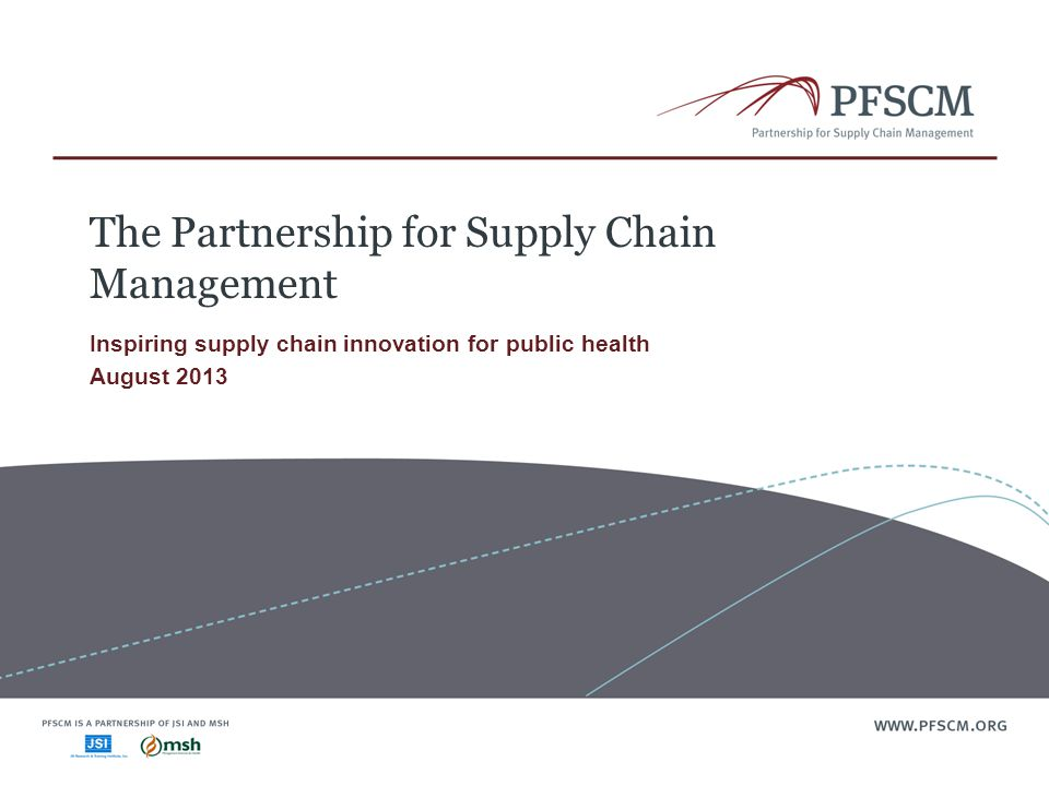 The Partnership for Supply Chain Management