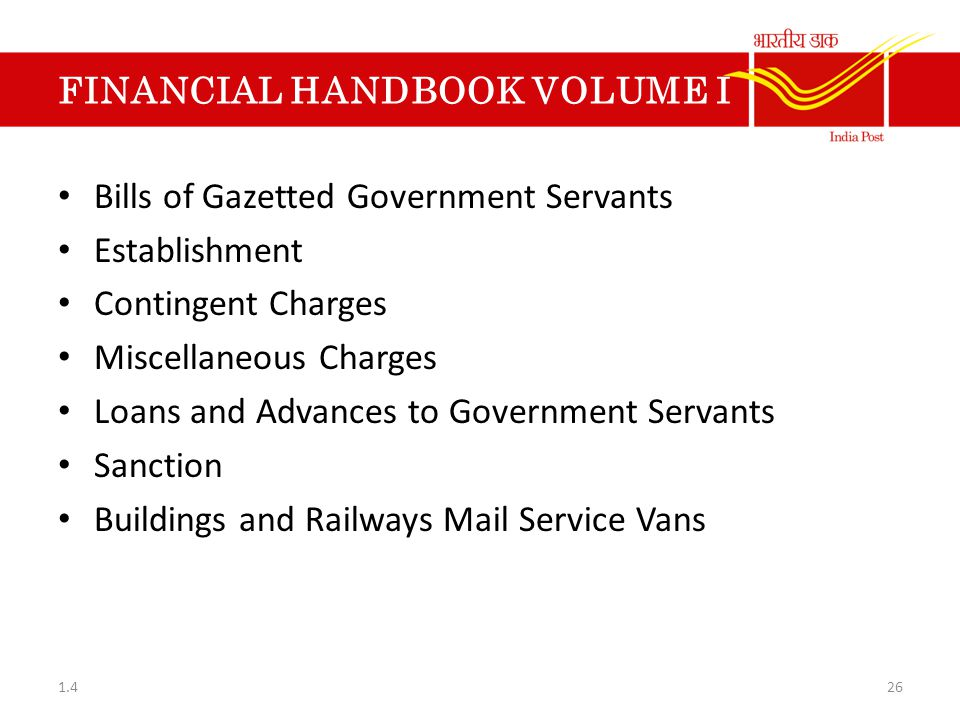 FINANCIAL HANDBOOK VOLUME I