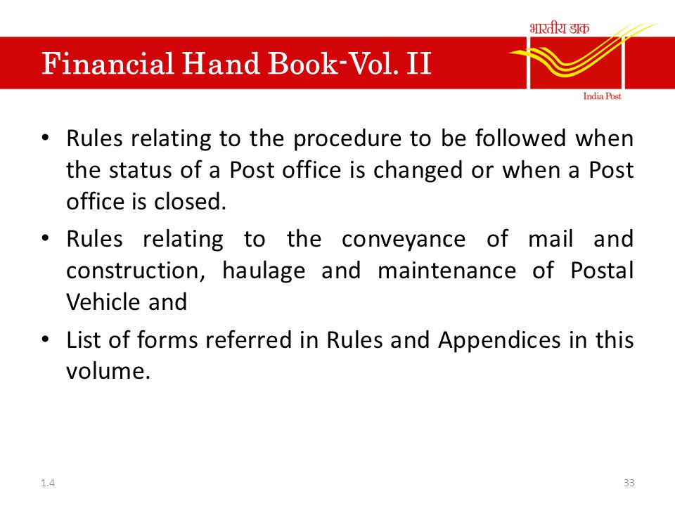 Financial Hand Book-Vol. II