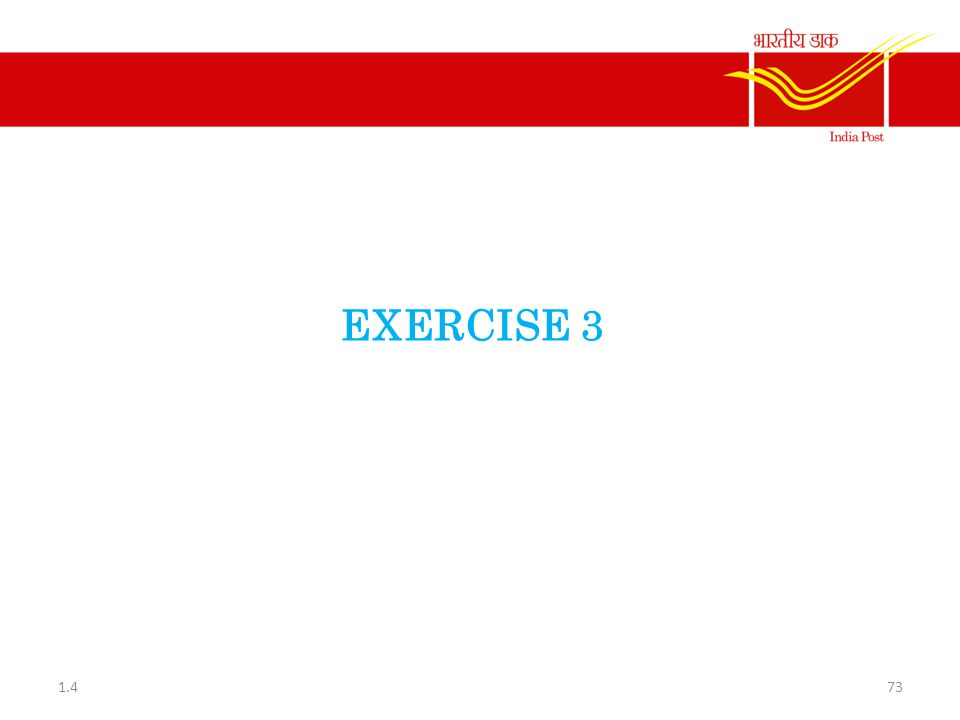 EXERCISE 3 1.4