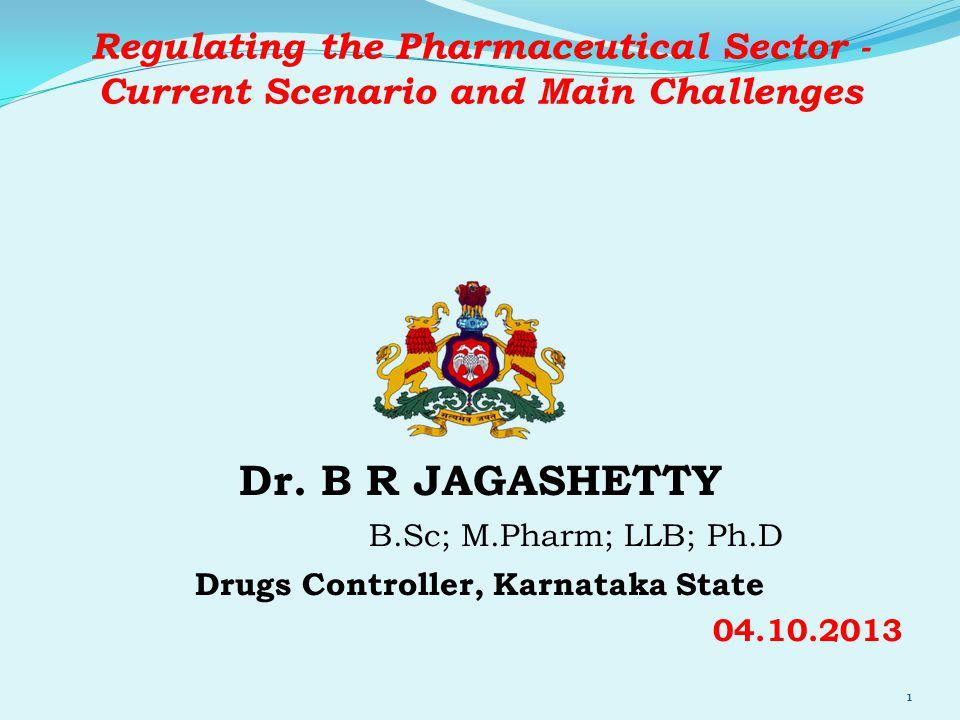 Drugs Controller, Karnataka State