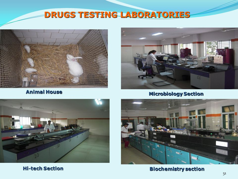 DRUGS TESTING LABORATORIES