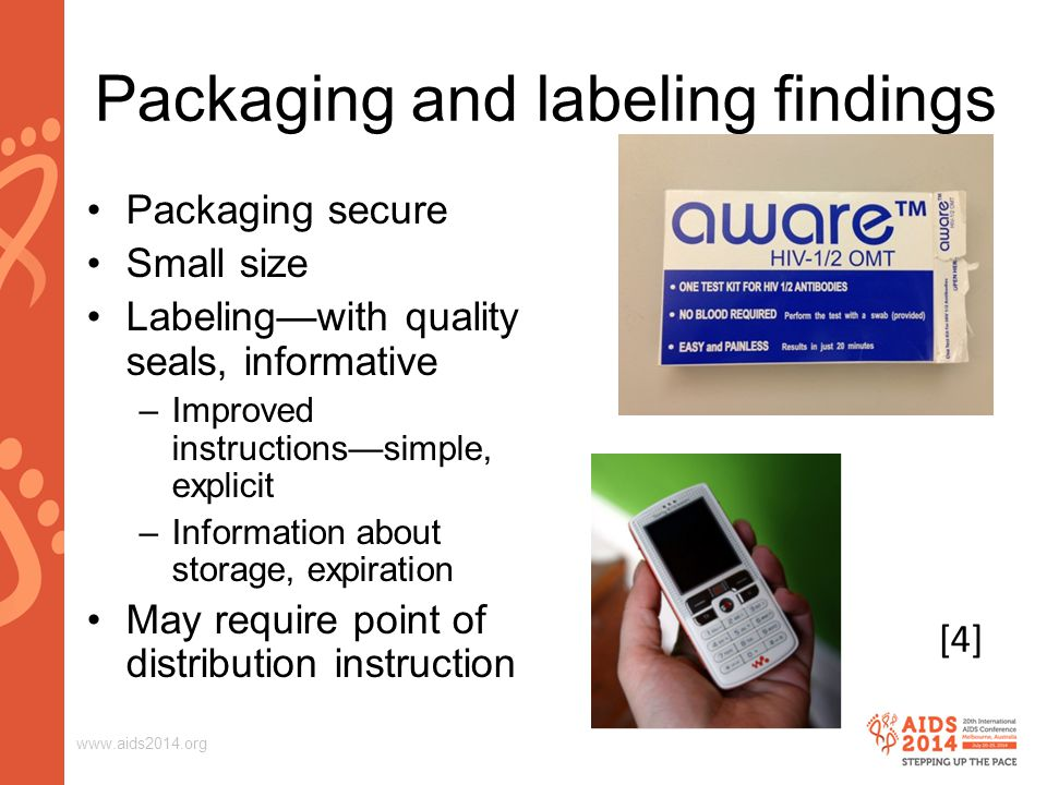 Packaging and labeling findings