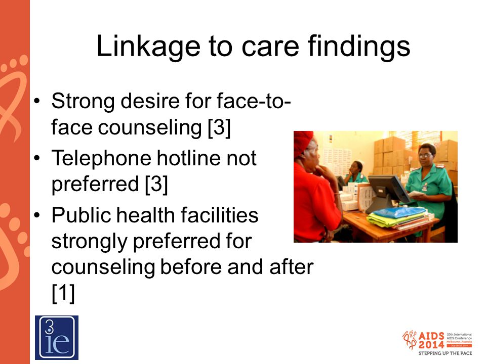 Linkage to care findings