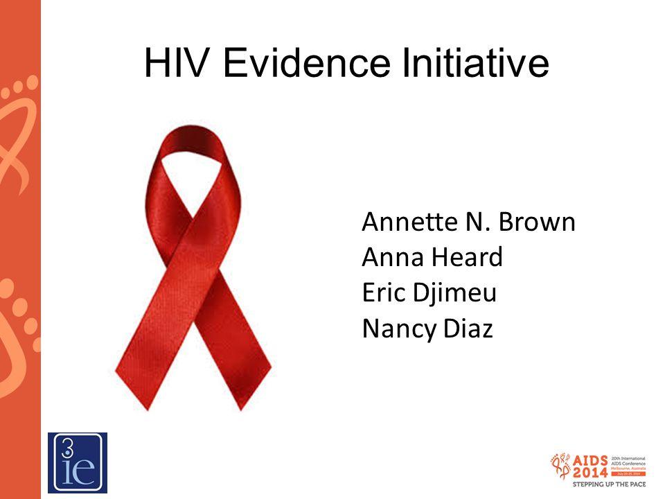 HIV Evidence Initiative