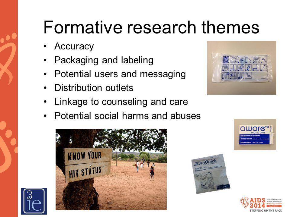 Formative research themes