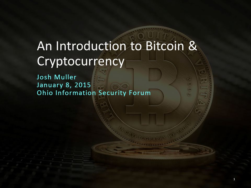 An Introduction to Bitcoin & Cryptocurrency