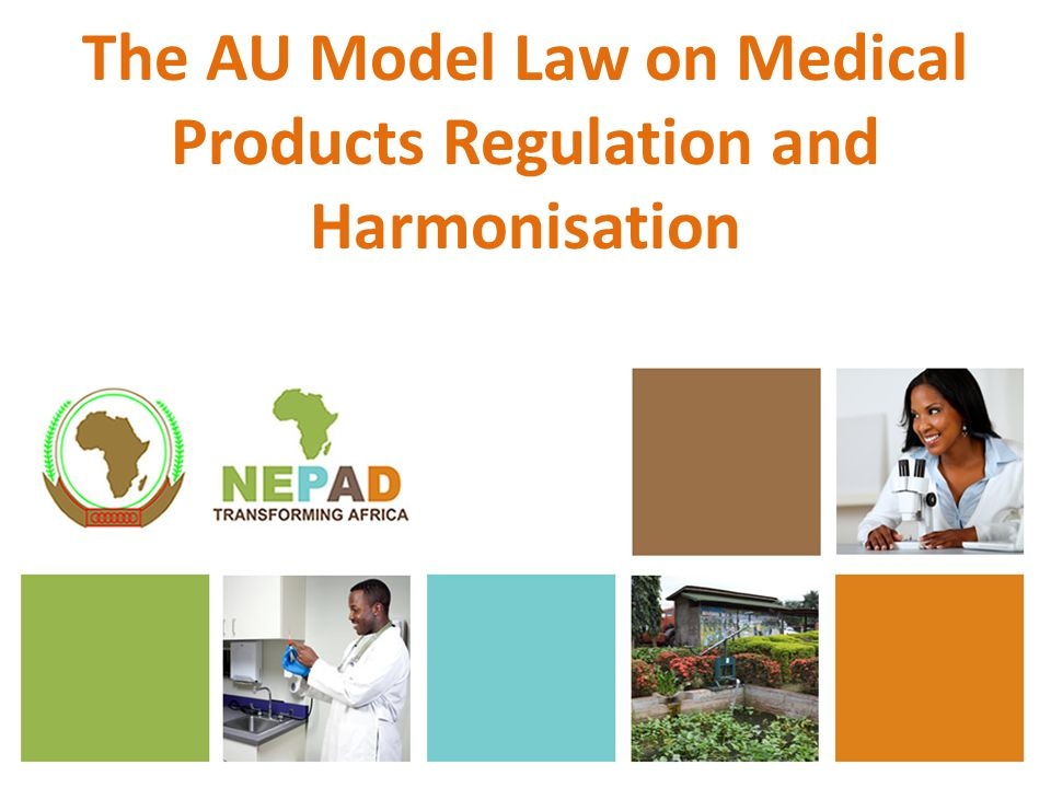 The AU Model Law on Medical Products Regulation and Harmonisation