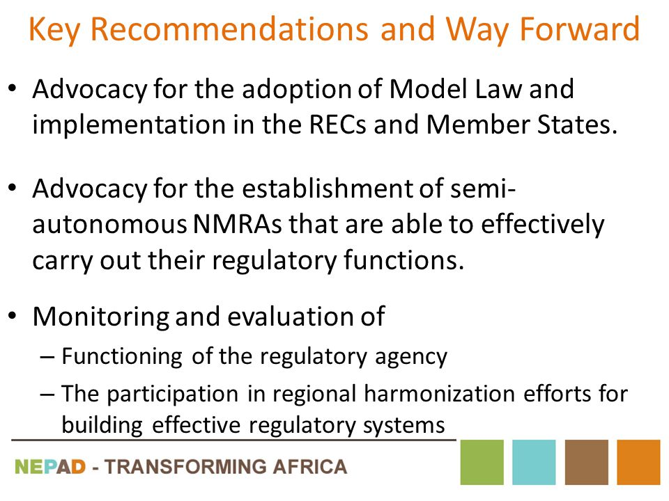 Key Recommendations and Way Forward