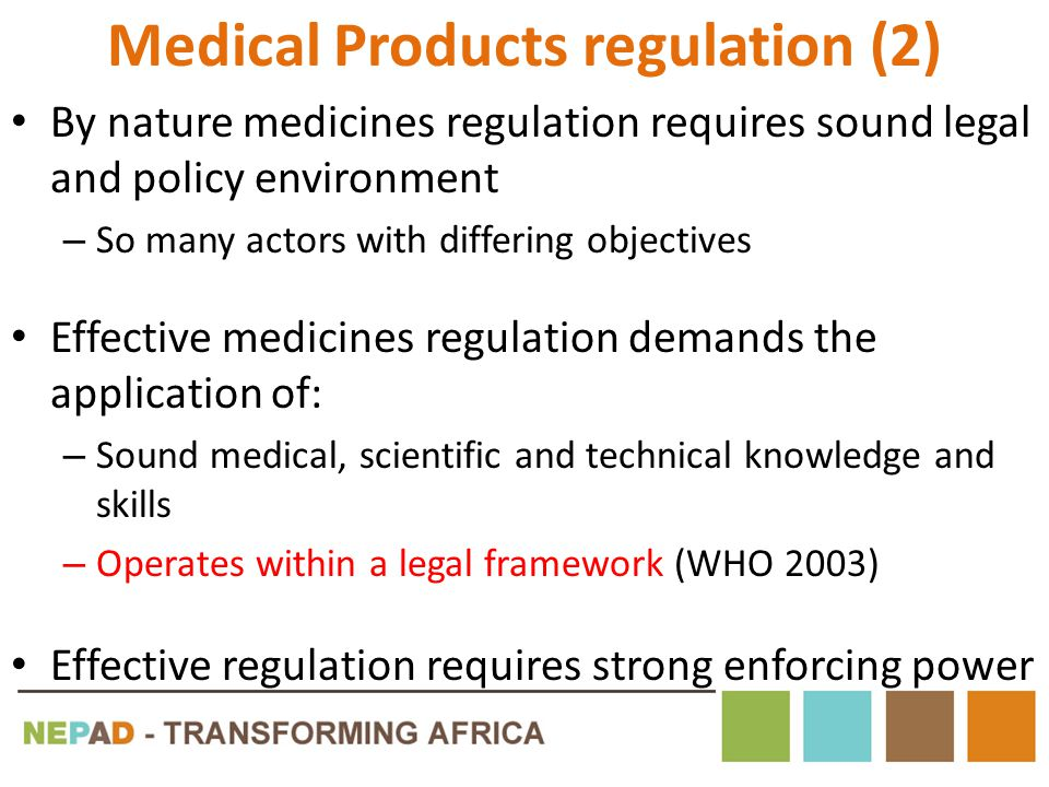 Medical Products regulation (2)