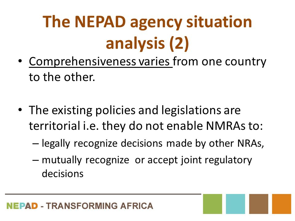 The NEPAD agency situation analysis (2)