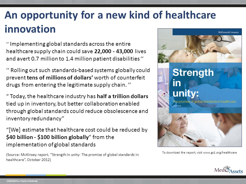 An opportunity for a new kind of healthcare innovation