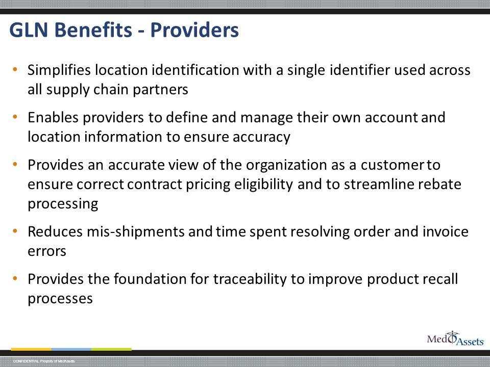 GLN Benefits - Providers