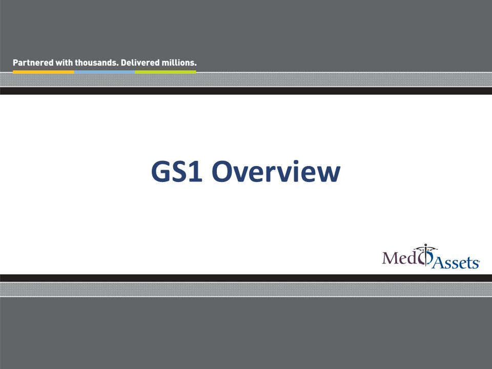 GS1 Overview