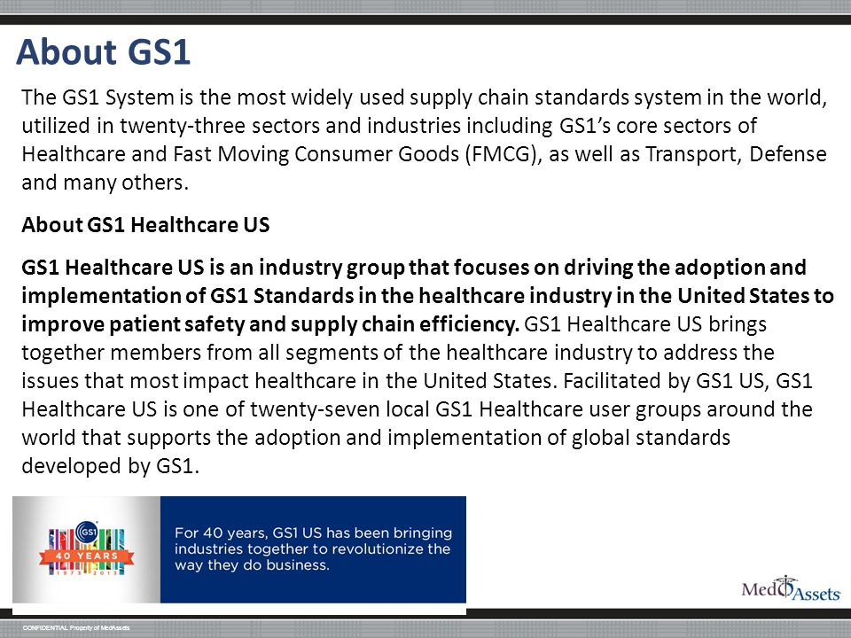 About GS1