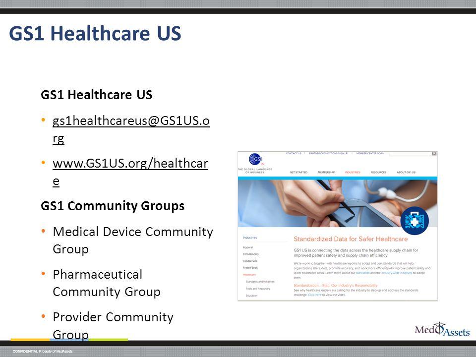 GS1 Healthcare US GS1 Healthcare US gs1healthcareus@GS1US.o rg