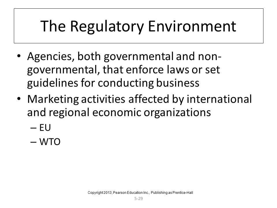 regulatory environment of international business Bank regulation is a form of government regulation which subjects banks to certain requirements, restrictions and guidelines, designed to create market transparency between banking institutions and the individuals and corporations with whom they conduct business, among other things.