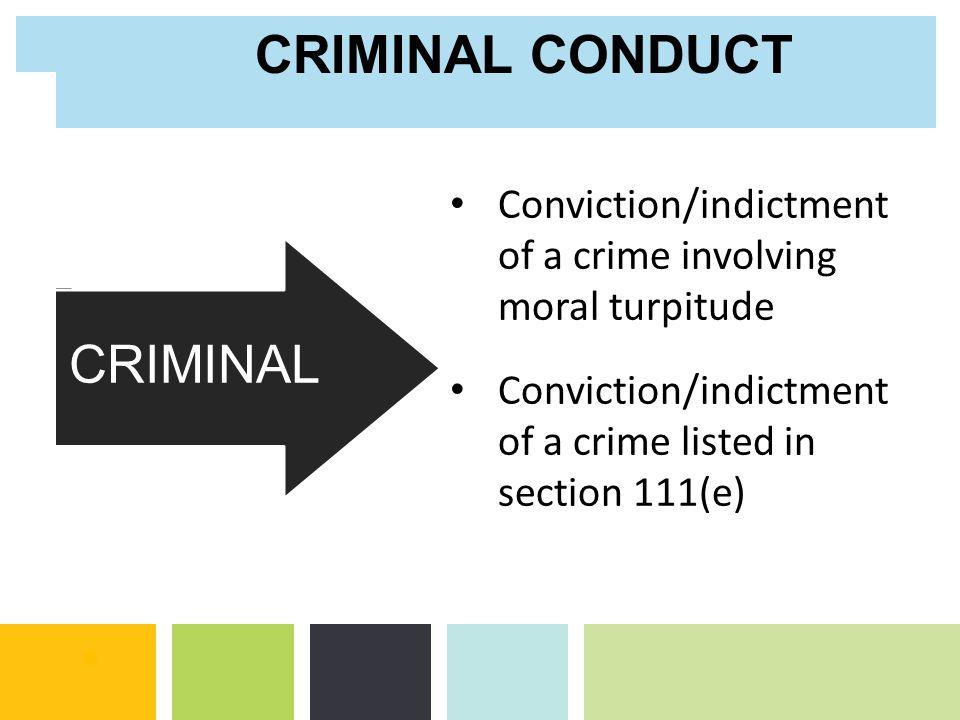 NON-CRIMINAL CRIMINAL