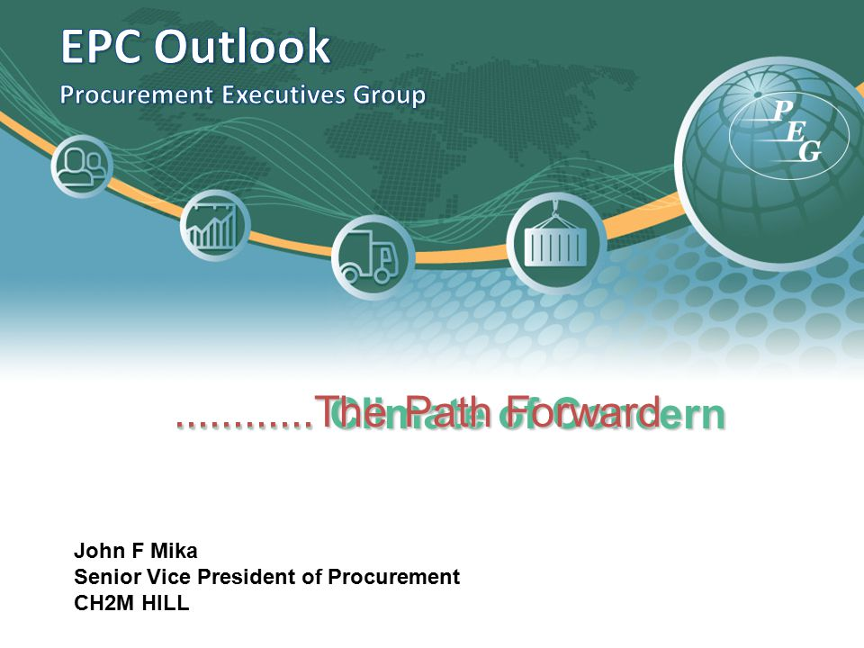 EPC Outlook Procurement Executives Group