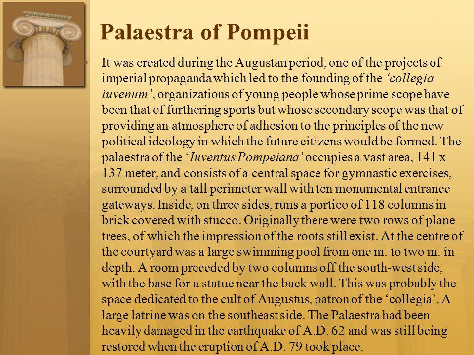 Palaestra of Pompeii