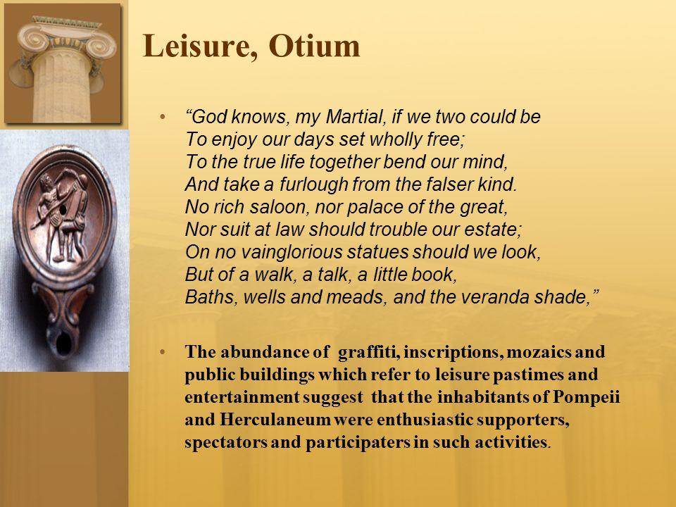 Leisure, Otium