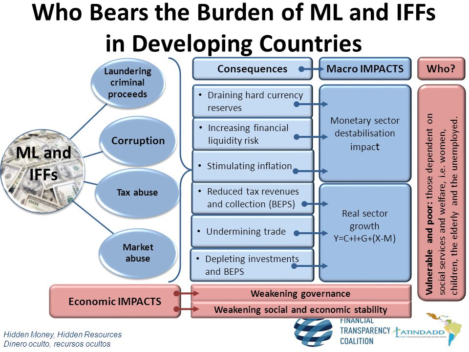 Who Bears the Burden of ML and IFFs in Developing Countries