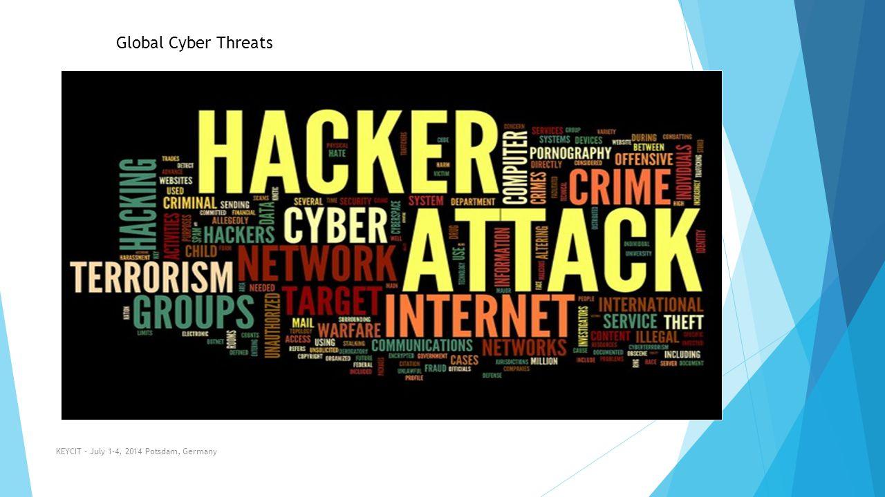 Global Cyber Threats KEYCIT - July 1-4, 2014 Potsdam, Germany