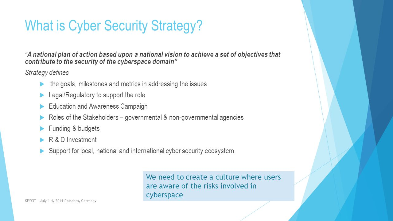 What is Cyber Security Strategy