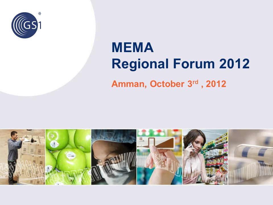 MEMA Regional Forum 2012 Amman, October 3rd , 2012