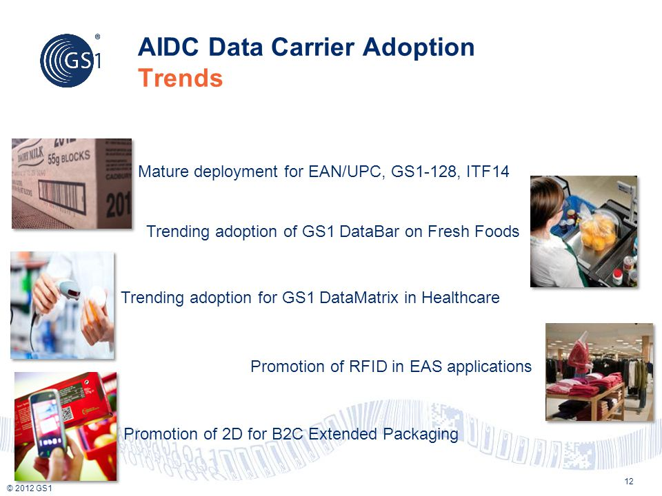 AIDC Data Carrier Adoption Trends