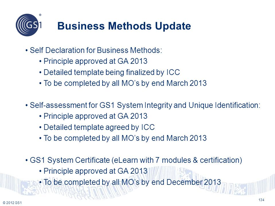 Business Methods Update