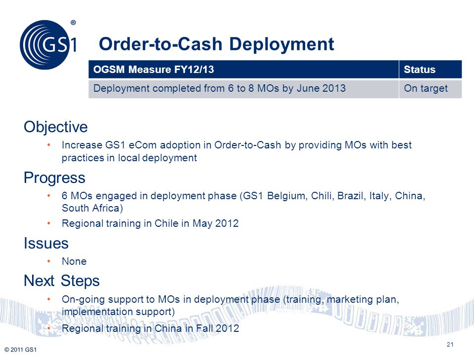 Order-to-Cash Deployment