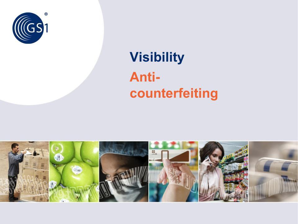 Visibility Anti-counterfeiting