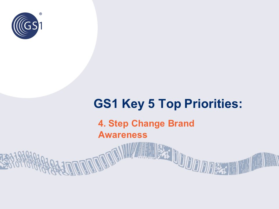4. Step Change Brand Awareness