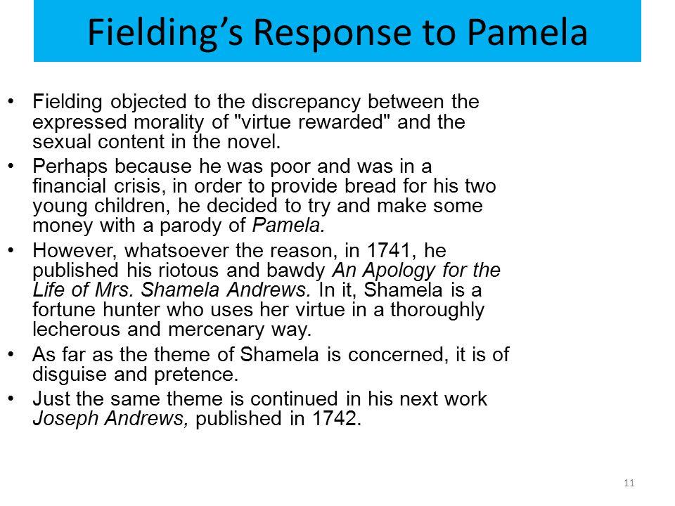 Fielding's Response to Pamela