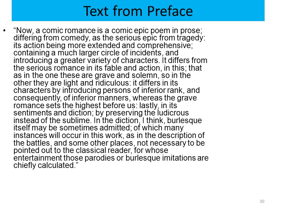 Text from Preface