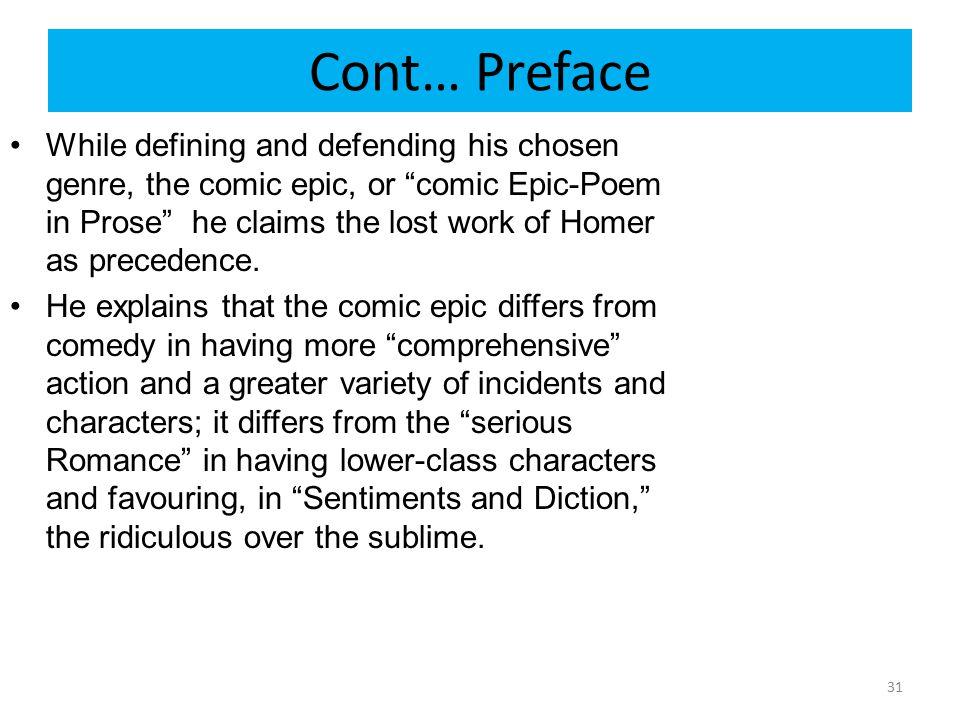 Cont… Preface