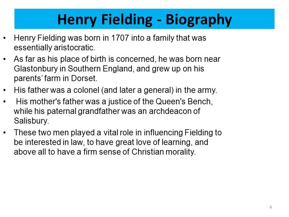 Henry Fielding - Biography