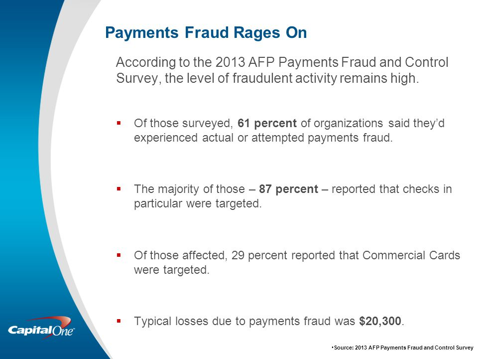 Afp fraud study