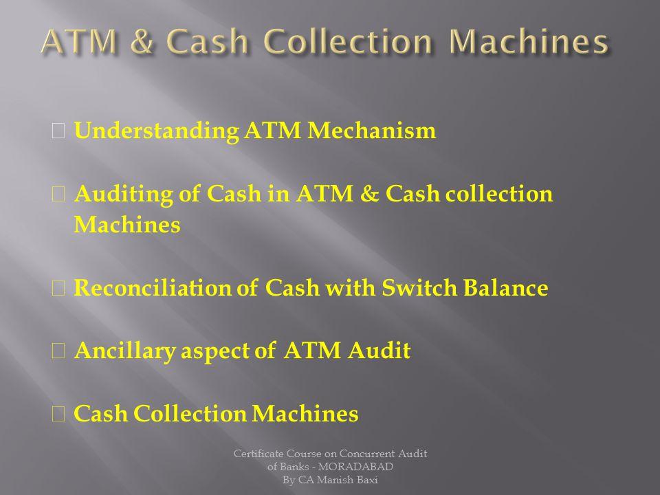 ATM & Cash Collection Machines