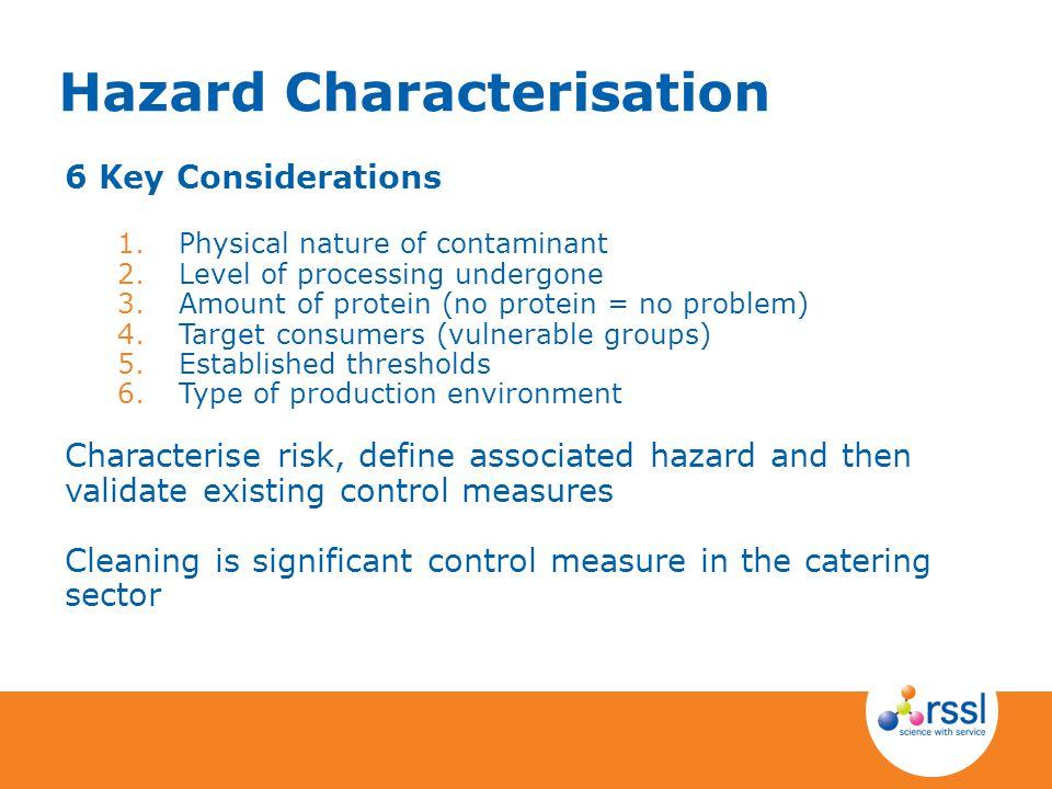Hazard Characterisation