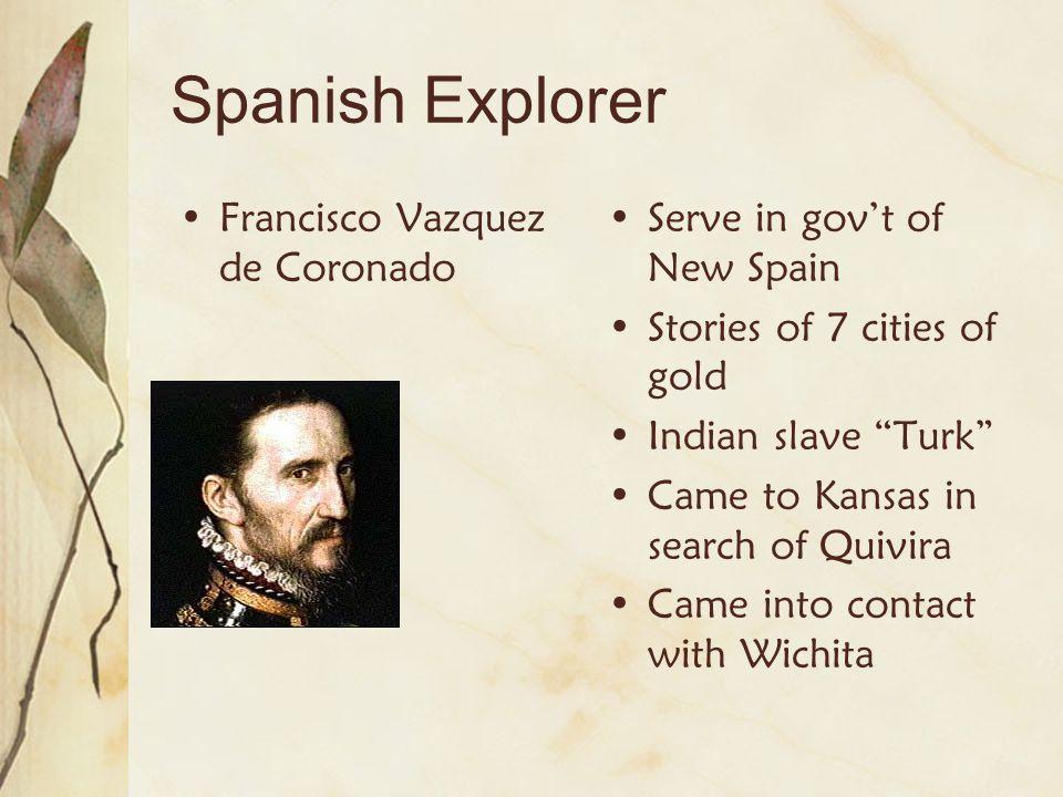 Spanish Explorer Francisco Vazquez de Coronado