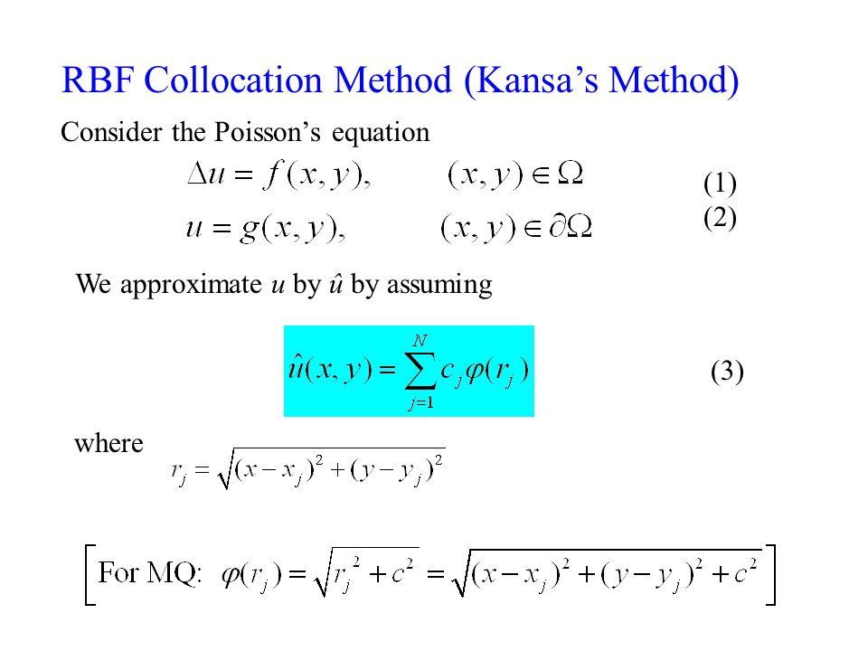 RBF Collocation Method (Kansa's Method)