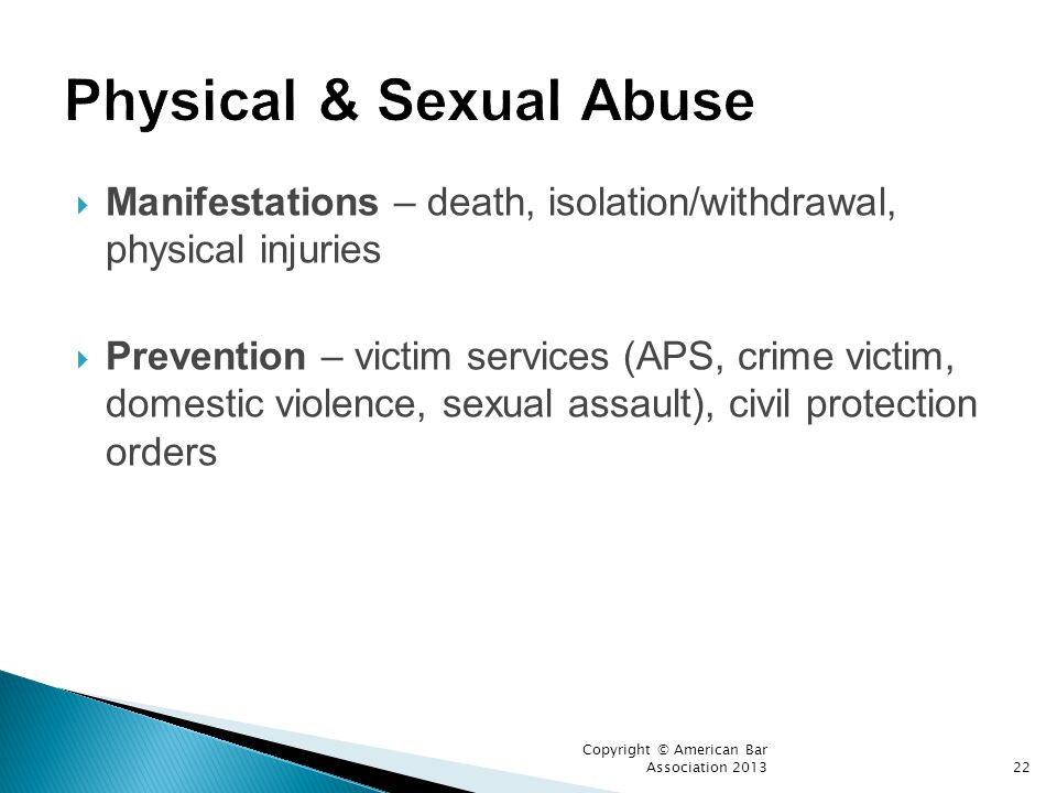 Physical & Sexual Abuse