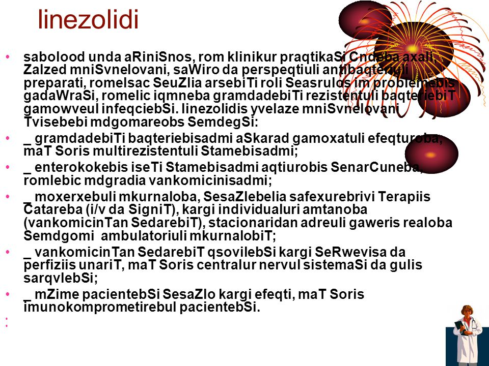 linezolidi