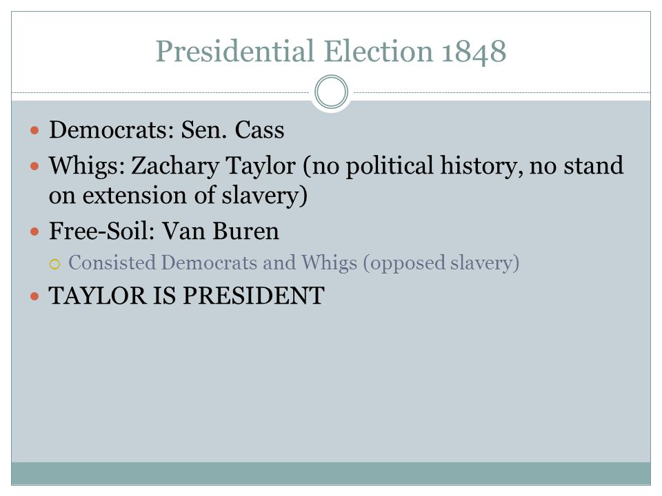 Presidential Election 1848